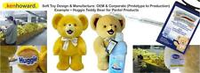 Design & Manufacture of 100 soft / plush toys, teddy bears - IDEAL FOR TEST RUNS