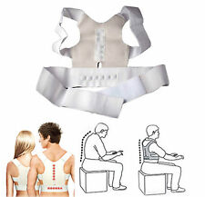 Power Magnetic Back Shoulder Posture Corrector Support Vest Adjustable [UNISEX]