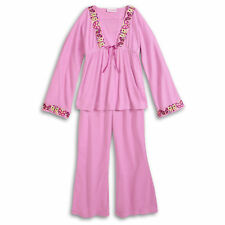 American Girl CL JULIE PAJAMAS SIZE L (14/16) for Girls Pink Butterfly PJ'S