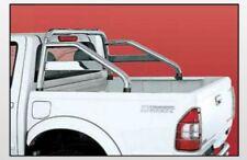 ISUZU PICK UP D-MAX ROLL BAR INOX BRILL C/TRAVERSA D-MAX 03/07 e STEED D/CAB