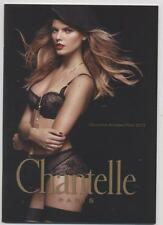 NEUF CATALOGUE CHANTELLE COLLECTION AUTOMNE HIVER 2013 LINGERIE PHOTO SEXY