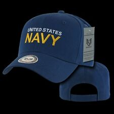 US Navy Back to the Basic Ball Cap Baseball Cotton Hat Military USN Rapdom S76