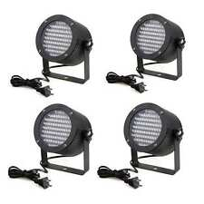 4PCS 86 RGB LED LIGHT PAR DMX512 LIGHTING LASER PROJECTOR PARTY DJ STAGE LAMP