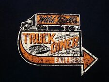 Wild Bill's Truck Diner Road Trip Trucker Stop Food Adventure T Shirt M