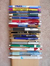 LOT OF (17) BALL POINT PENS WITH BUSINESS ADVERTISEMENTS (SET P)
