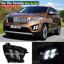 US STOCK New LED Daytime Running Light For KIA Sorento Fog Lamp DRL 2015 2016