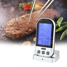 New Design Digital LCD Wireless Remote Kitchen Food Cook BBQ Grill Thermometer