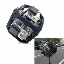360 Degree Spherical Panorama Nut Mount Rig for 6x GoPro Hero 3 3+ 4 Accessories