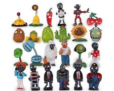 Cosplay 24pcs Plants vs Zombies Toys Series Role Figure Display Doll PVC