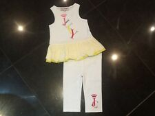 Juicy Couture New & Gen. Baby Girl Two Piece Sleeveless Set Age 6/12 MTHS & Logo