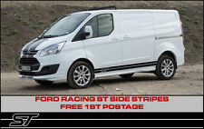 Ford Transit Custom ST Side Stripes Sport Racing Connect Focus Style