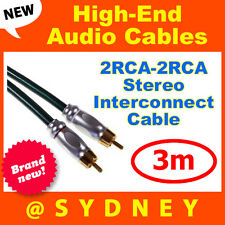 High-end NEOTECH Origin 3m 2RCA - 2RCA Component Stereo Interconnect Cable