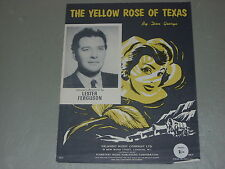 Lester Ferguson: The Yellow Rose Of Texas    Sheet Music