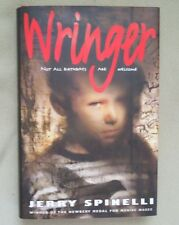 Wringer by Jerry Spinelli 1997 HARDCOVER w/JACKET 1st/2nd