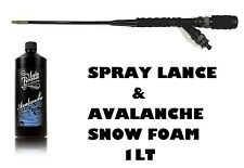 Auto Finesse Avalanche Snow Foam 1l & High Pressure Spray Lance & Foam Dispenser