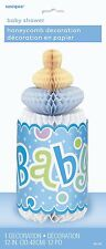 12 Inch Blue Dots Baby Shower Accessories Bottle Honeycomb for Baby Shower Parti