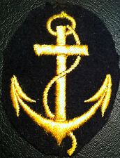 ✚6008✚ GERMAN NAVY WW2 KRIEGSMARINE BOATSWAIN NCO'S CAREER SLEEVE INSIGNIA PATCH