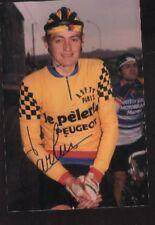 Claude Carlin PEUGEOT Photo Signée cyclisme ciclismo autographe LE PELERIN team