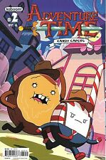 Adventure Time Candy Capers  # 2 Kaboom NM Cover B 2013