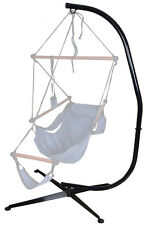 Hammock C Stand Solid Steel Tube Hammock Air Porch Swing Hanging Chair Cradle