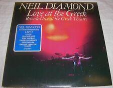 Neil Diamond Love at the Greek Theatre FOC - 2 Vinyl LP Album