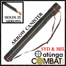 NEW ATUNGA TELESCOPIC QUIVER, TUBE, CANISTER FOR COMPOUND BOW ARCHERY HUNTING