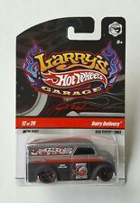 Hot Wheels Larry's Garage Dairy Delivery Metal Body Real Riders