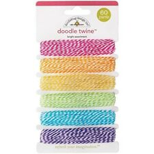Doodlebug Doodle Twine Assortment Pack 60 Yards - 126672