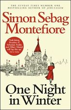 SIMON SEBAG MONTEFIORE __ ONE NIGHT IN WINTER __ BRAND NEW __ FREEPOST UK