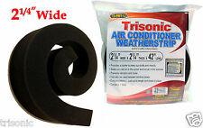 "AC Air Conditioner Weatherstrip 2-1/4"" x 2-1/4"" x 42"" Insulating Strip Seal New"