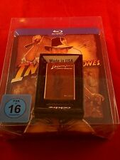 Indiana Jones Quadrilogy -Blu-ray Jumbo Steelbook & zippo lighter, very rare