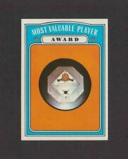 1972 Topps Semi Hi #622 MOST VALUABLE PLAYER MVP No Creases NM-MT