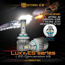 Stark 80W 9000LM Flip COB Chip LED Kit 6000K 6K Headlight Bulbs - 9006 HB4 (B)