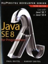 Java SE8 for Programmers by Harvey Deitel and Paul Deitel (2014, Paperback)