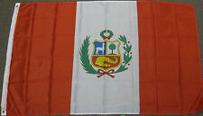 3X5 PERU FLAG PERUVIAN FLAGS NEW BANNER SIGN F160