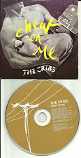 THE CRIBS Cheat on Me CARDED SLEEVE UK Made PROMO DJ CD single 2009 USA SELLER