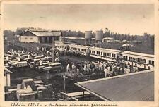 C4053) ETIOPIA, ADDIS ABEBA, INTERNO DELLA STAZIONE FERROVIARIA VG NEL 1937.