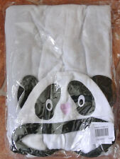 New velour Panda Onesie 2-3  years
