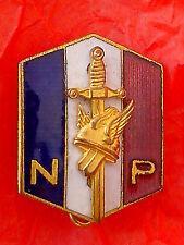 Insigne émaillé des Jeunesses Patriotes  1930 - Droite Nationaliste