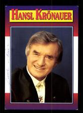 Hansl Krönauer Autogrammkarte Original Signiert ## BC 63691