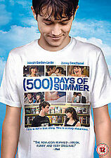 500 DAYS OF SUMMER NEW SEALED DVD