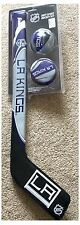 Los Angeles LA Kings NHL Soft Ice Hockey Stick Ball & Puck Set