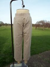 NEXT Pull On Under The Bump Maternity Cotton Chinos Plus Size 22R BNWT RRP £22