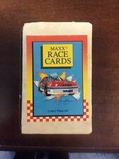 1989 Maxx Race Cards Complete Set New in Box