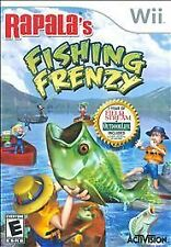 RAPALA FISHING FRENZY WII GAME NEW