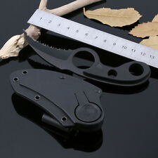 Outdoor Camping Self-defense Bear Claw Serrated Bowie Pocket Survival Tool