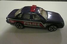 1996 Collectible Diecast Matchbox Ford Crown Victoria Toy Police Car clean