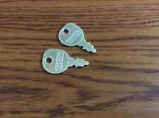 Two New Ignition Keys fit John Deere 110 112 120 140 210 212 316 317 318 111 116