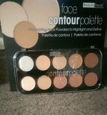 Beauty Treats Face Contour Palette 10 Sculpting Face Powders to Highlight