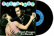 "THE KINKS - DON'T FORGET TO DANCE - RARE 7"" 45 VINYL RECORD PIC SLV 1983"